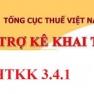 Phần mềm HTKK 3.4