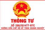 Hệ thống danh mục tài khoản TT200