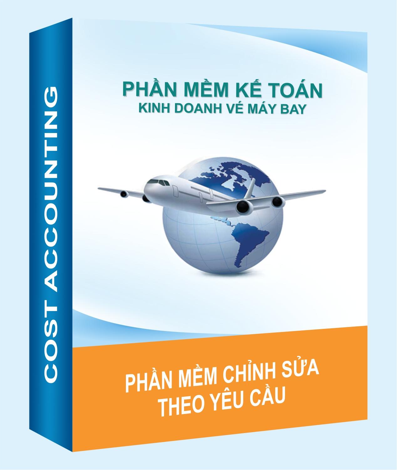 Phần mềm dành cho đơn vị bán vé máy bay