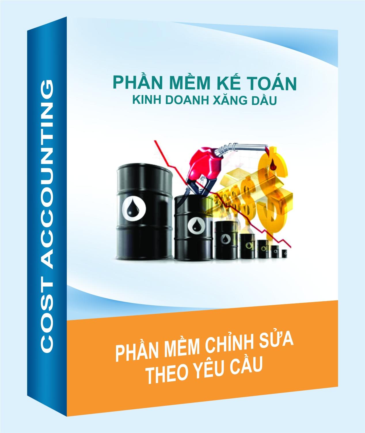 Phần mềm kế toán đơn vị kinh doanh xăng dầu